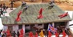 Rorke's Drift Storehouse - fully painted