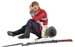 24th Foot Seated Wounded - PRE-ORDER