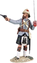42nd Highlander Officer firing pistol - PRE-ORDER