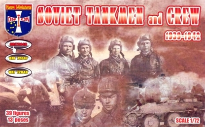 WWII Soviet Tankmen an Crews - 1939-1942