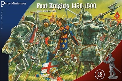 Wars of the Roses Foot Knights 1450-1500