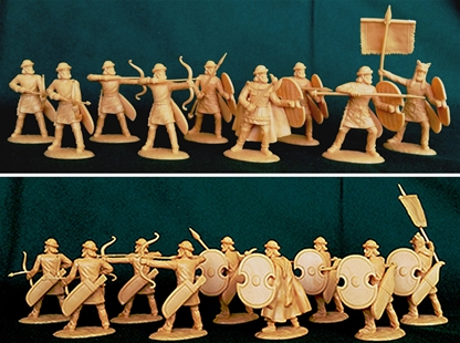 Ancient Persian Medes Provincial Infantry