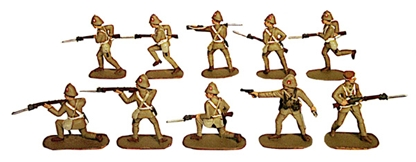British Army - Boer Wars 1899-1902 - Fully Paint