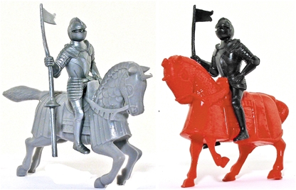 54mm Medieval War Horses - limited stock