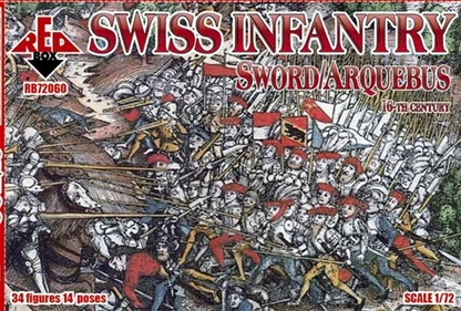 Swiss Infantry XVI Century Sword and Arquebus