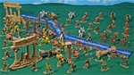 Super Deluxe Painted Roman Empire Playset