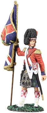 Black Watch Queen's Colour - Crimean War 1854