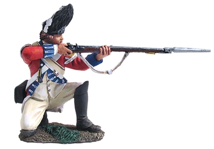 British Royal Irish Grenadier Kneeling Firing #1
