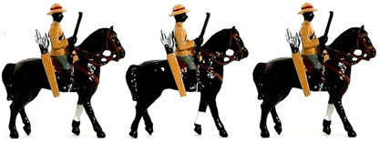 Natal Native Horse Troopers - Zulu War