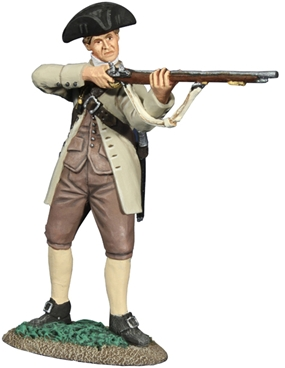 Colonial Militia Standing Firing #1 - only 1 left