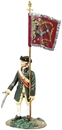 Colonial Flagbearer #2 - Bedford Militia Colours