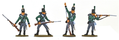 British 95th Riflemen - fully painted