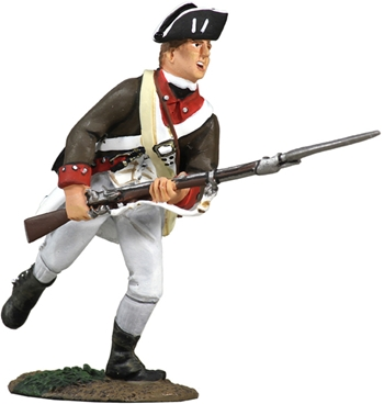 Continental Infantry 1776-1777 Charging No.1