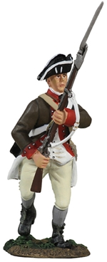 Continental Infantry 1776-1777 Charging No.2