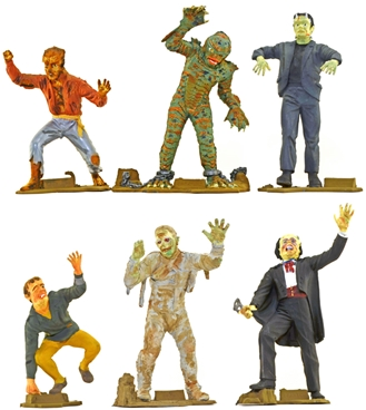 6-inch Universal Movie Monsters - fully painted
