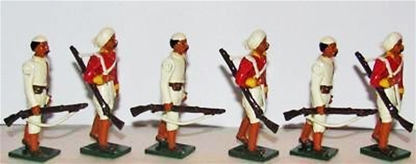 Mutineers - Indian Mutiny - 1857 - Star set
