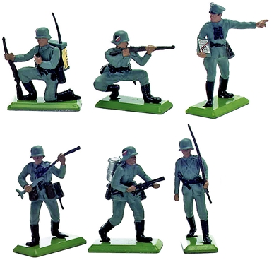 Deetail WWII German Infantry Set #2
