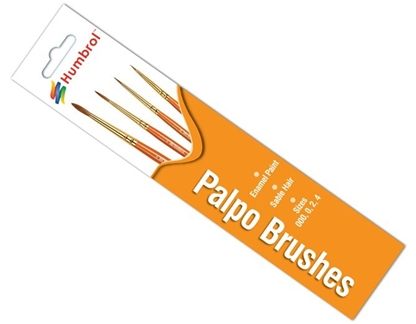 Humbrol Palpo Brushes - for enamel paints