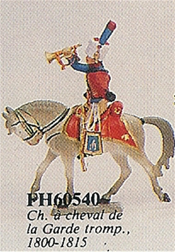 Mounted Trumpeter Chasseur of the Guard 1800-1815