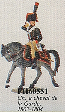 Mounted Guard Chasseur a Cheval 1803-1804