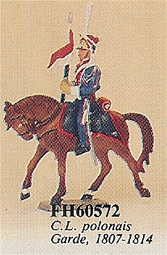 Mounted Polish Lancer of the Guard 1807-1814