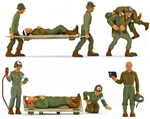WWII U.S. Infantry Medical Unit - fully painted