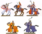 100 Years' War Characters - fully painted
