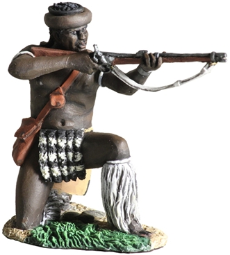 uDloko Regt Firing Percussion Rifle No.1