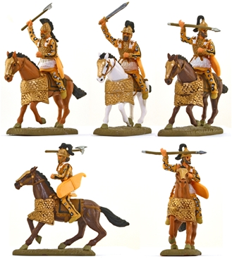 Ancient Persian Heavy Cavalry - basic painted