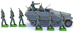 WWII German Bundle #3 - Mechanized Infantry