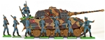 Deetail WWII German Bundle #5 - King Tiger Advance