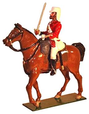 'The Black Watch' Mounted Officer Indian Mutiny