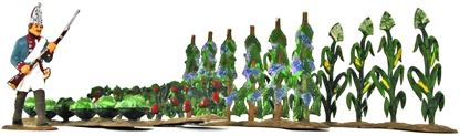 Agricultural Crop Set - fully painted