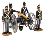 British Royal Artillery 9 Pdr and Crew - PRE-ORDER