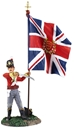 British 44th Foot Ensign King's Colour