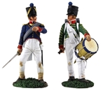 French Command-Drummer and Officer- PRE-ORDER