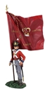 1st Foot Guard Ensign w King's Colour