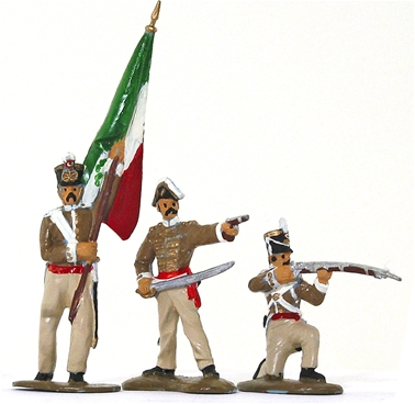 Mexican Cazadores Regiment - Fully painted