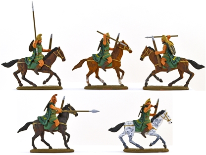 Ancient Thracian Light Cavalry - fully painted