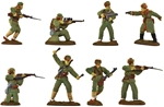 Korean War Chinese Infantry - fully painted
