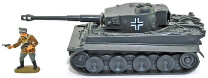 German Mk I Tiger Tank - with painted insignia