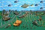Deluxe Red Storm Rising - NATO vs Soviets Playset