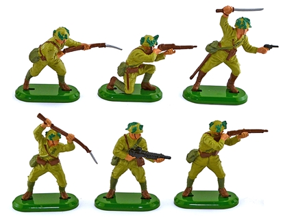 Deetail WWII Japanese Infantry - Fully Painted