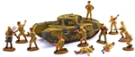 WWII British 8th Army Churchill Attack - 1 left