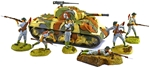 WWII Chinese Infantry Bundle with Sherman Tank