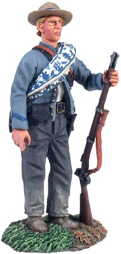 C.S.A. Standing in Reserve Resting Musket No.1