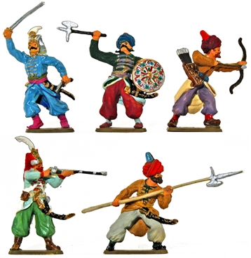 Renaissance Turkish Infantry - Fully painted