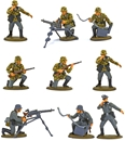 WWII German Machine Gun Section - painted