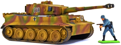 WW II German Tiger Tank - Fully painted