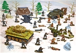 Deluxe World War II Painted Playset